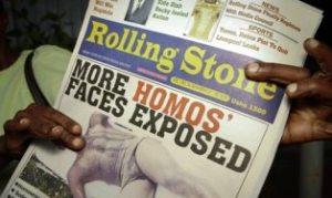 La revista Rolling Stone publica la identitat dels homosexuals d'Uganda